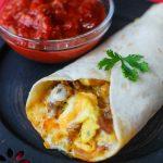 Freezer Friendly Breakfast Burrito Recipe - The Rockstar Mommy