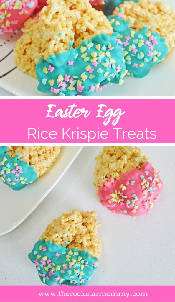 Easter Egg Rice Krispie Treats Recipe - The Rockstar Mommy