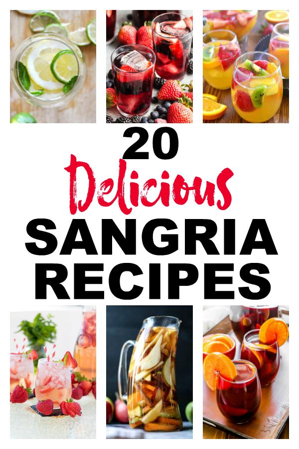 20 Easy Sangria Recipes - The Rockstar Mommy