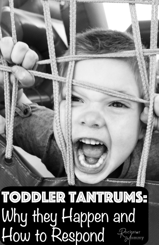 How to Respond Tantrums - The rockstar mommy
