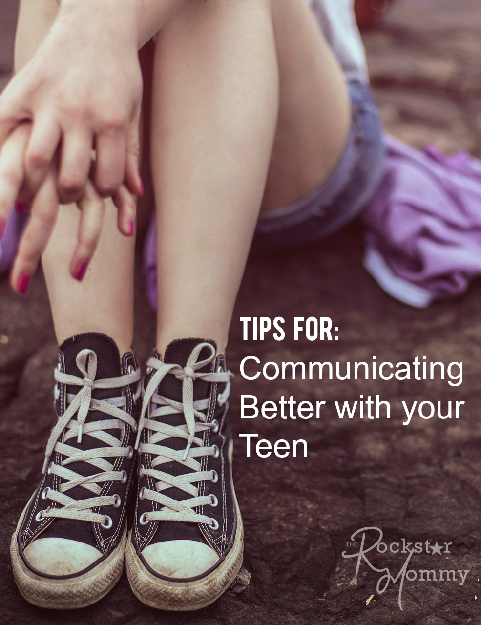 - picture of teen sitting on the ground