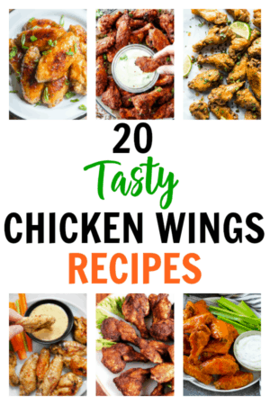 20 Tasty Chicken Wings Recipes