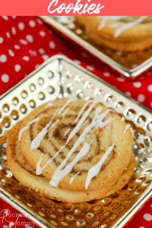 Cinnamon Bun Cookies recipe from The Rockstar Mommy