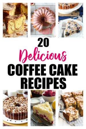 20 Delicious Coffee Cake Recipes - The Rockstar Mommy