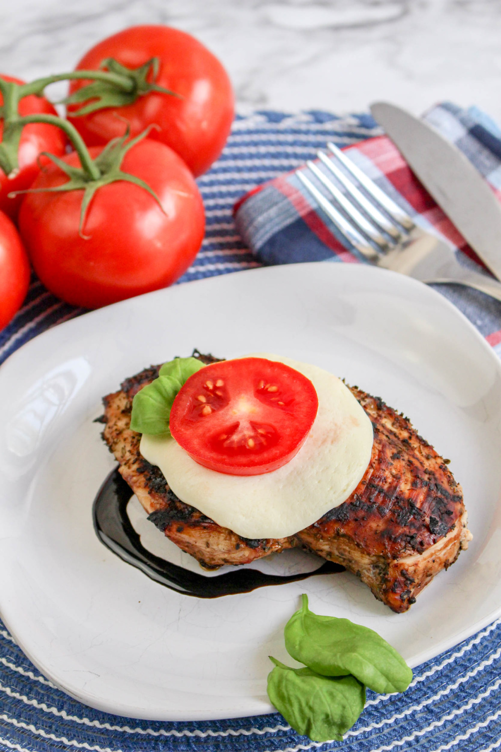 Grilled Caprese Chicke